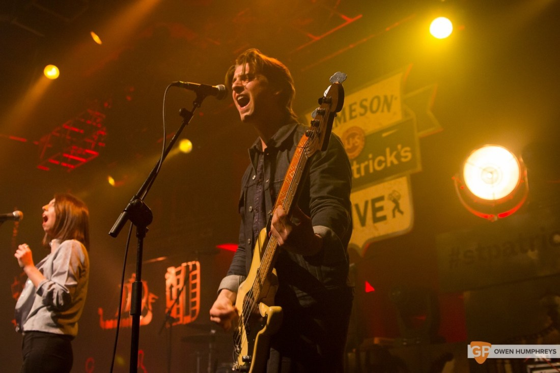 Little Green Cars at Jameson St. Patrick's Day Live at Vicar Street by Owen Humphreys (4 of 14)