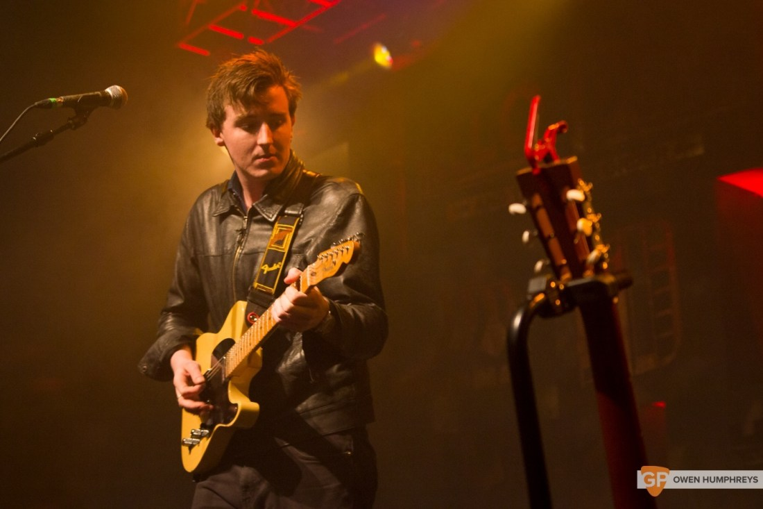 Little Green Cars at Jameson St. Patrick's Day Live at Vicar Street by Owen Humphreys (5 of 14)