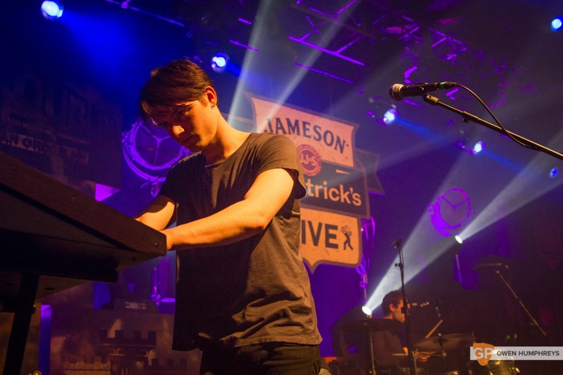 Little Green Cars at Jameson St. Patrick's Day Live at Vicar Street by Owen Humphreys (9 of 14)