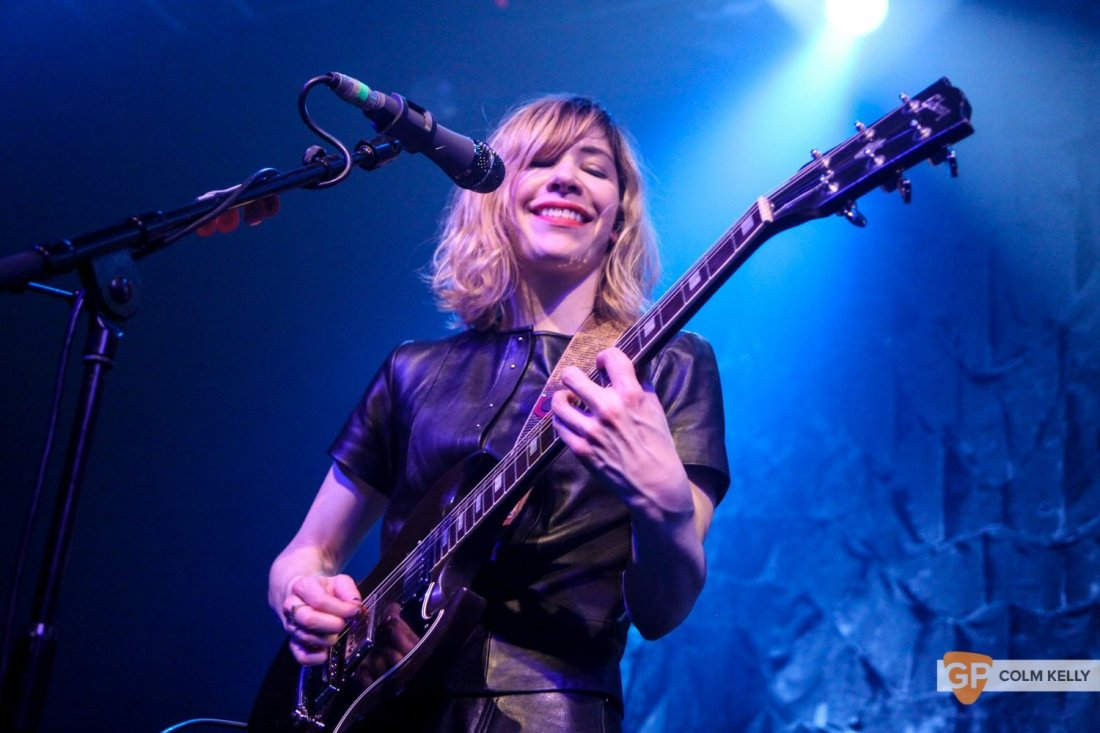 Sleater Kinney at Vicar St. by Colm Kelly