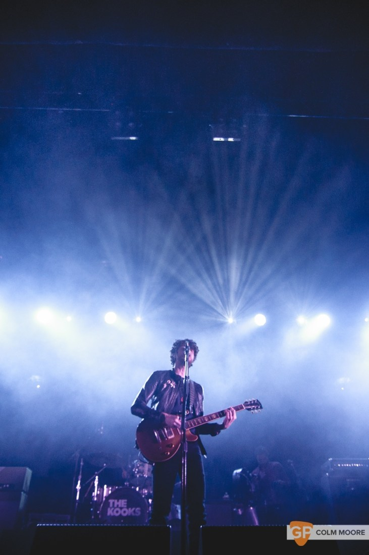 THE KOOKS at THE OLYMPIA THEATRE DUBLIN by COLM MOORE