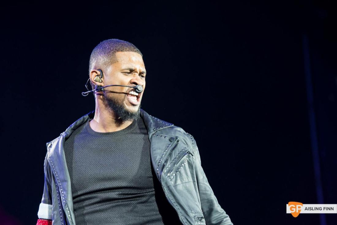 USHER at THE 3 ARENA by AISLING FINN (6)