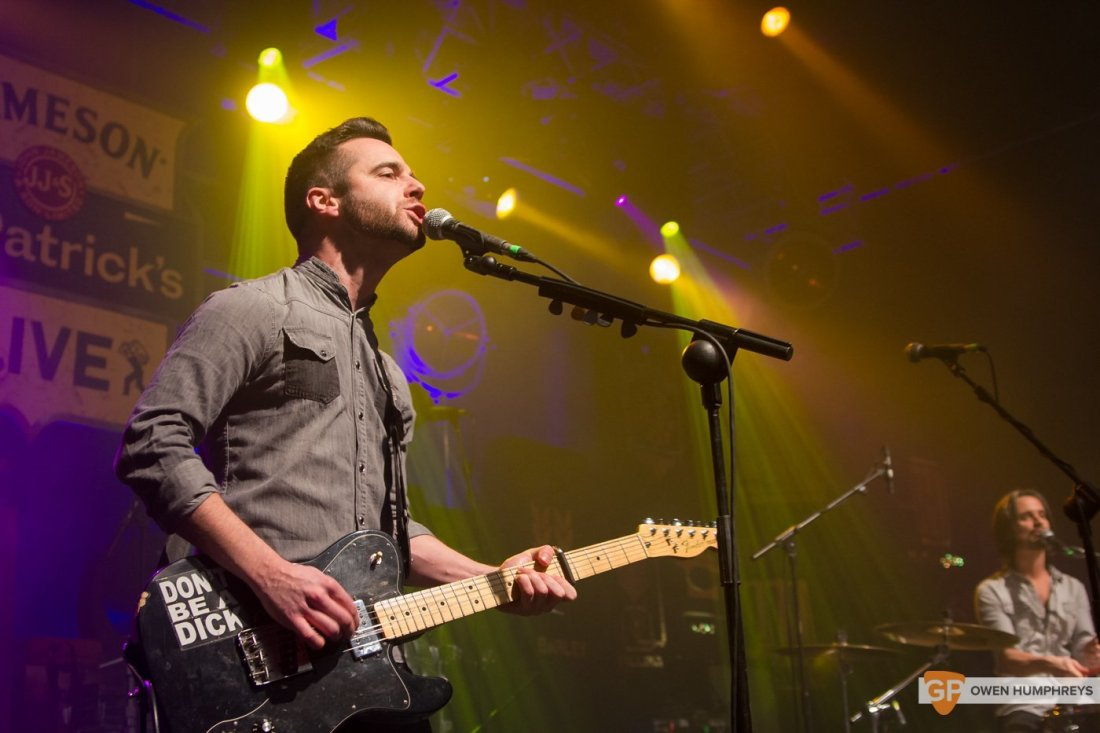 We Cut Corners at Jameson St. Patrick's Day Live at Vicar Street by Owen Humphreys (2 of 7)
