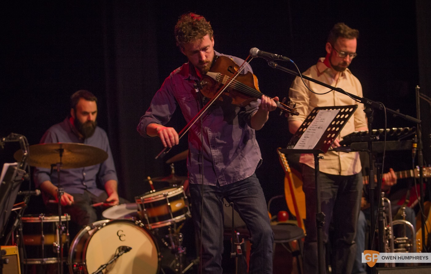 Colm Mac Con Iomaire at The Pavilion Theatre by Owen Humphreys (12 of 12)