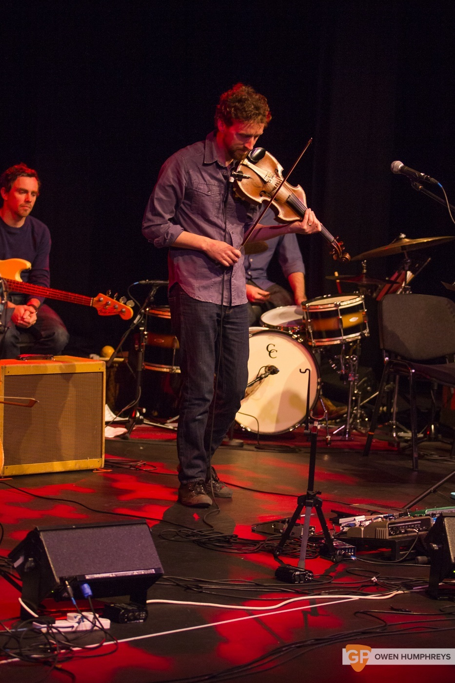 Colm Mac Con Iomaire at The Pavilion Theatre by Owen Humphreys (4 of 12)
