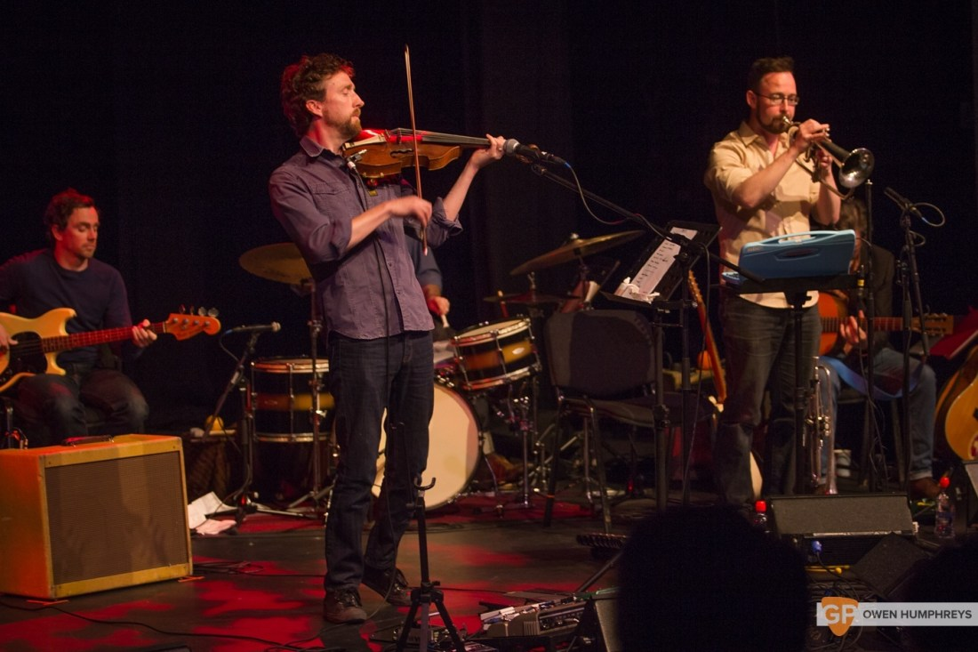 Colm Mac Con Iomaire at The Pavilion Theatre by Owen Humphreys (5 of 12)