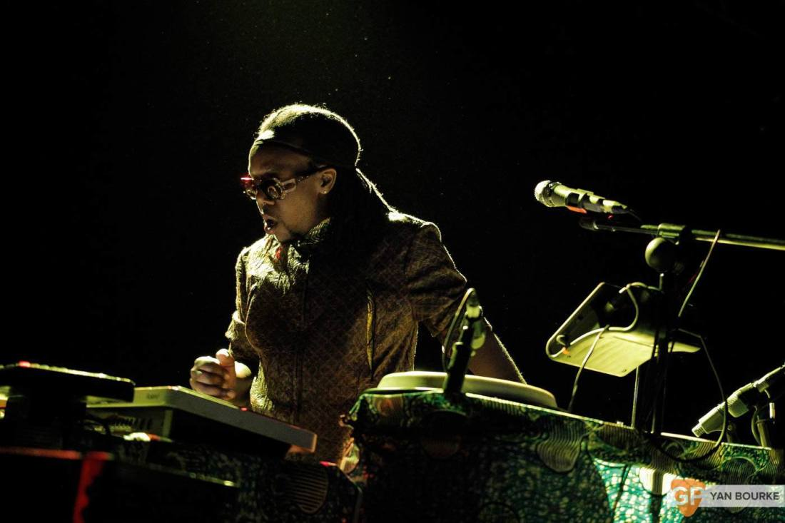 Shabazz Palaces in Vicar Street on 29 April 2015