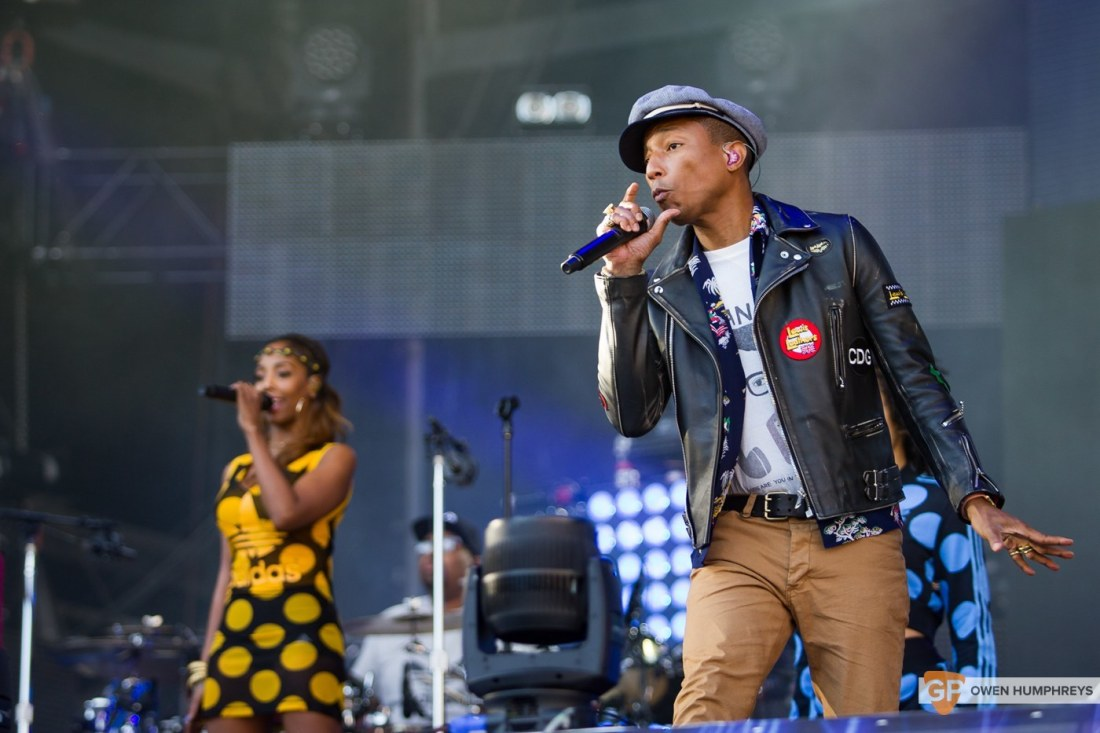 Pharrell Williams at Croke Park by Owen Humphreys (1 of 9)