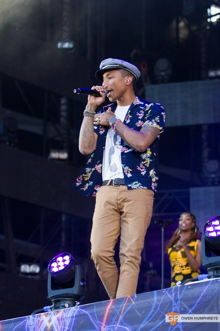Pharrell Williams at Croke Park by Owen Humphreys (2 of 9)