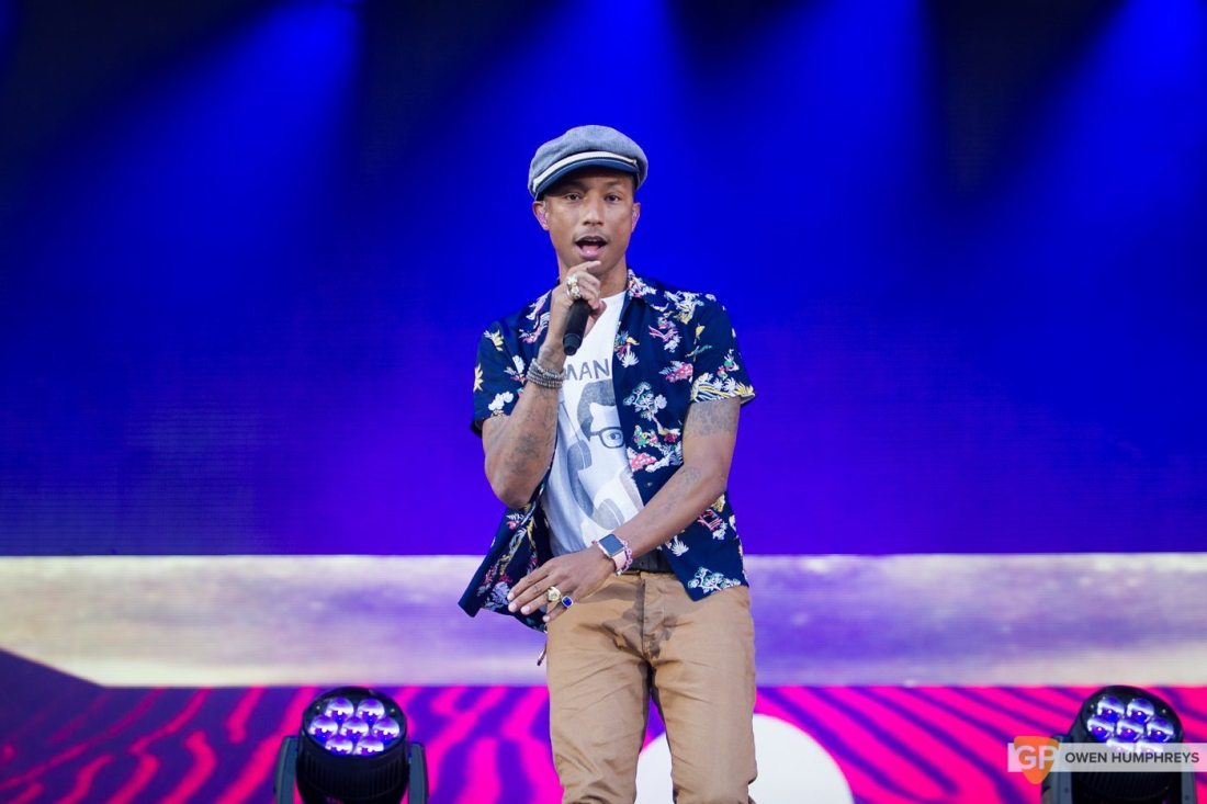 Pharrell Williams at Croke Park by Owen Humphreys (3 of 9)