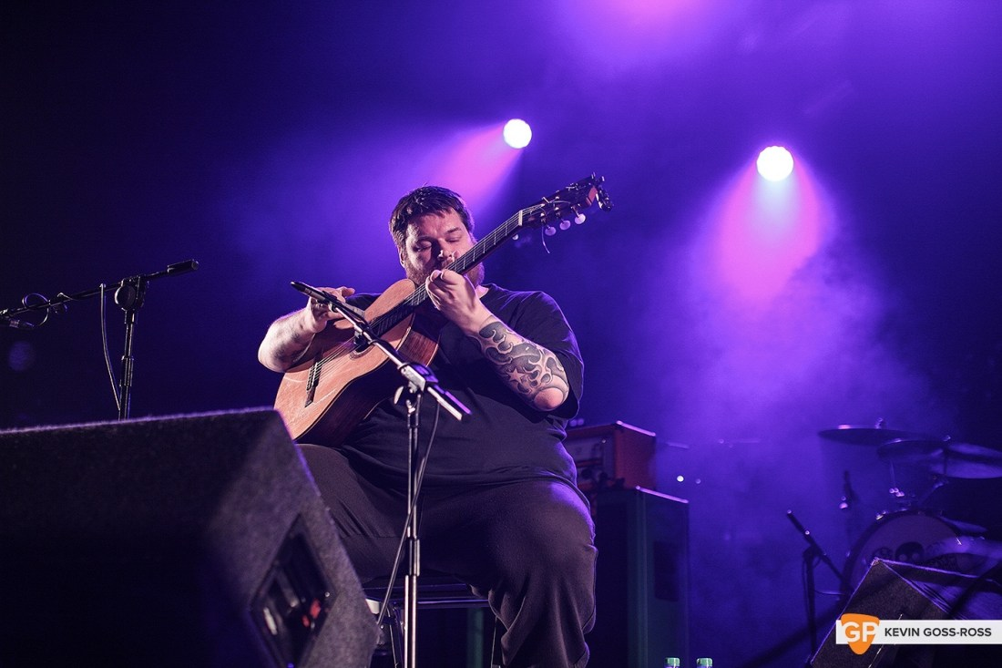 RM Hubbert at The Olympia by Kevin Goss-Ross