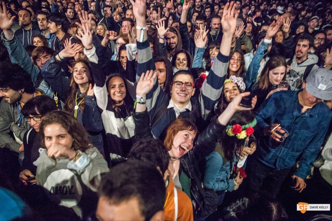 The crowd at Interpol at NOS Primavera Sound, Porto by David Kelly