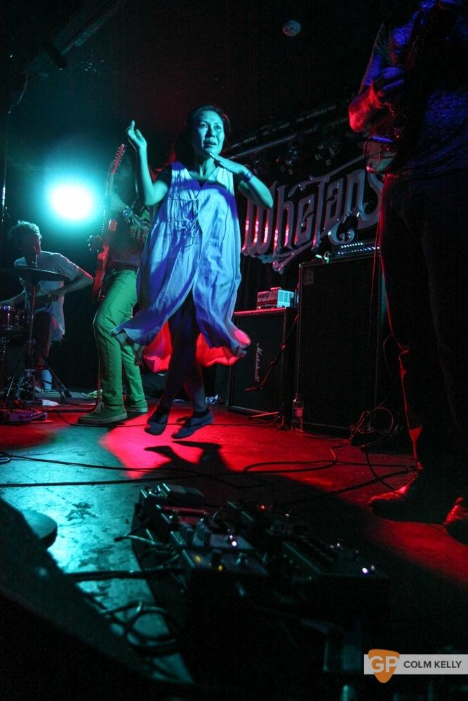 Deerhoof at Whelans by Colm Kelly
