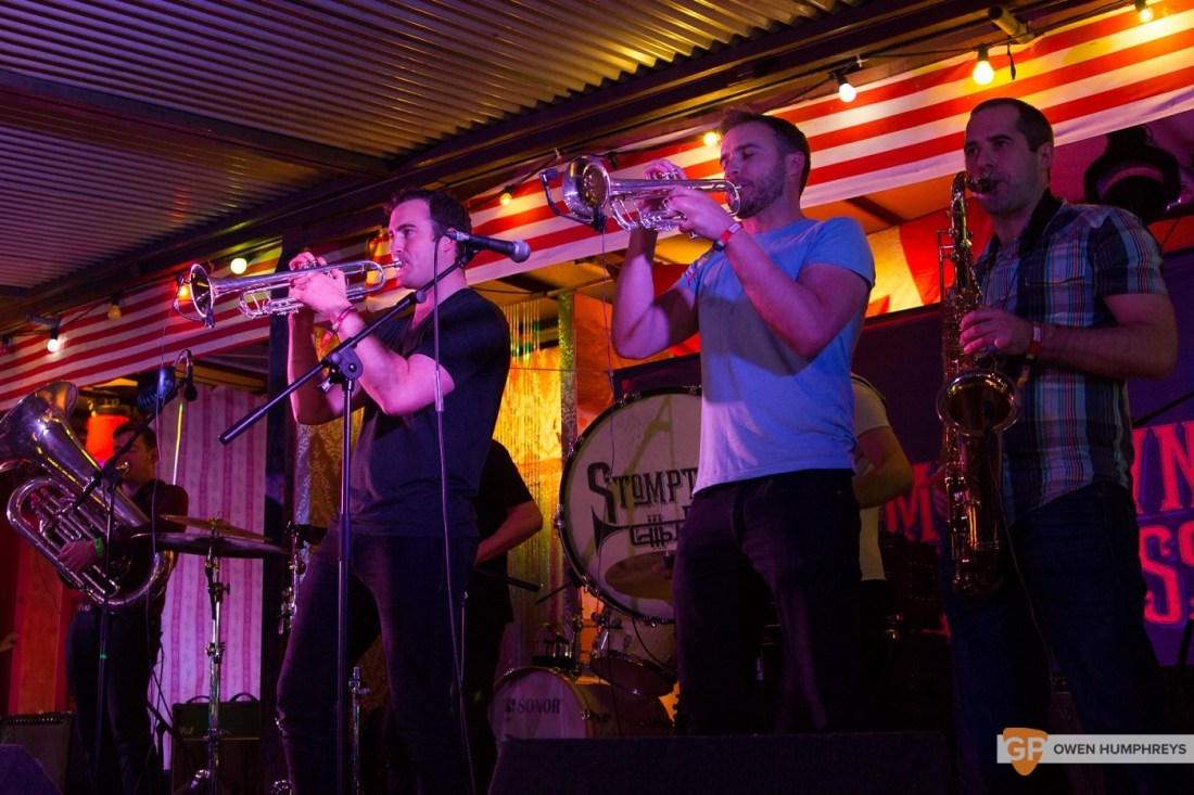 Stomptown Brass at Electric Picnic 2015 by Owen Humphreys (1 of 5)