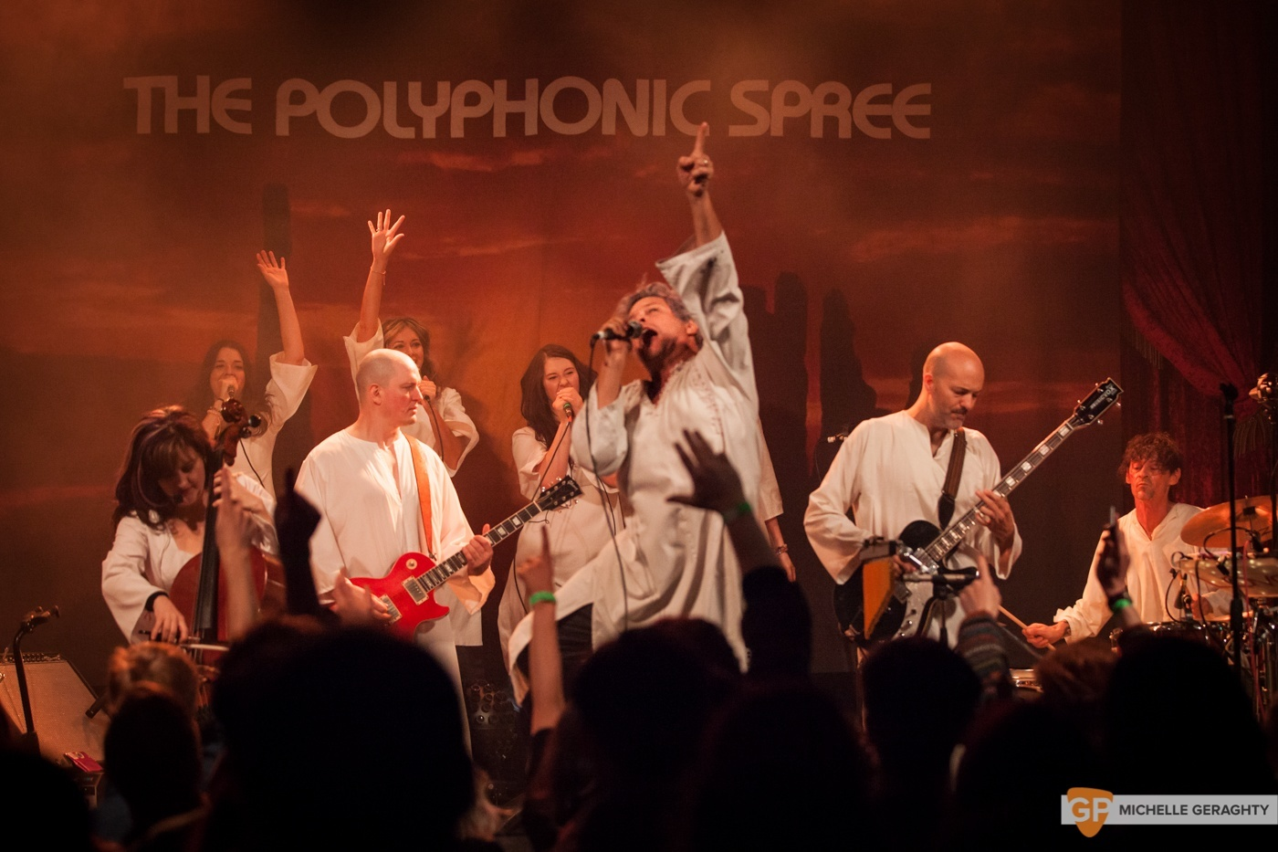 The Polyphonic Spree at the Academy by Michelle Geraghty-1074