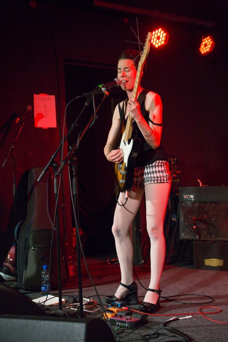Jennifer Evans live at Hard Working Class Heroes 2015, photo by Owen Humphreys