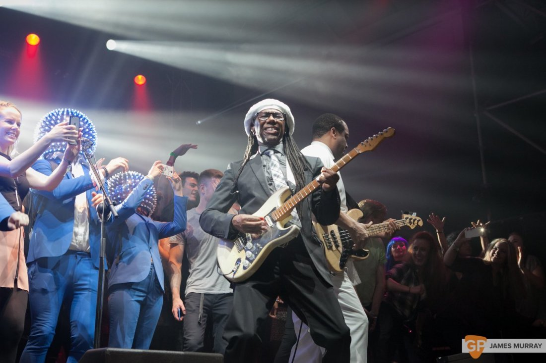 Chic featuring Nile Rodgers by James Murray