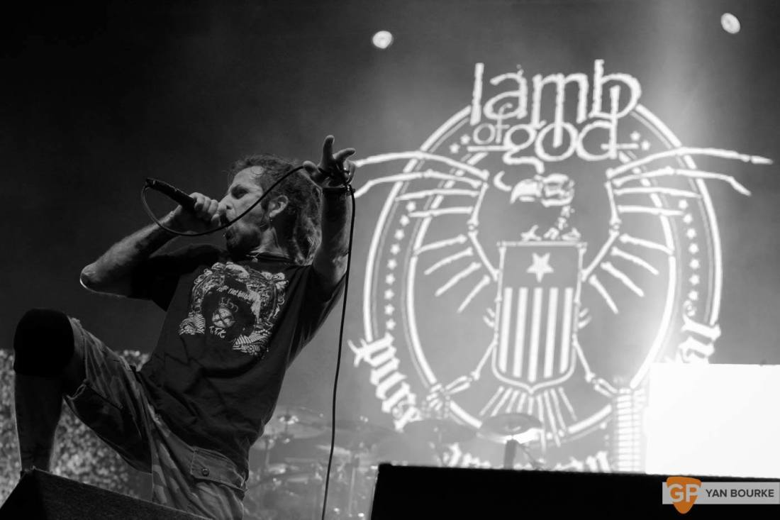 Lamb of God in the 3Arena on 9 October 2015 by Yan Bourke