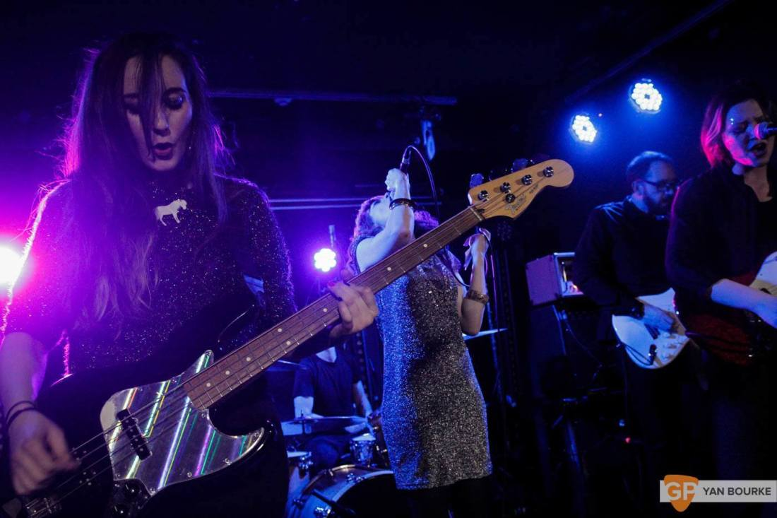Bitch Falcon and Sleep Thieves in the Workman's Club on 18 December 2015 by Yan Bourke by Yan Bourke-2