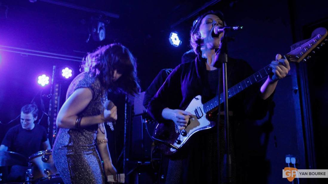 Bitch Falcon and Sleep Thieves in the Workman's Club on 18 December 2015 by Yan Bourke by Yan Bourke-6