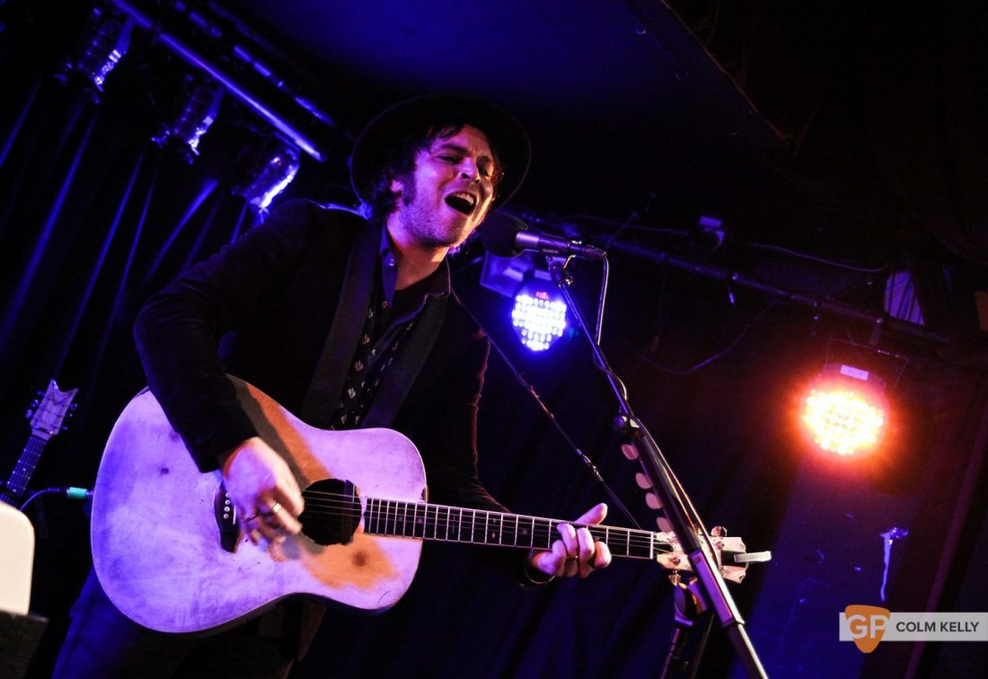 Gaz Coombes at Whelans by Colm Kelly