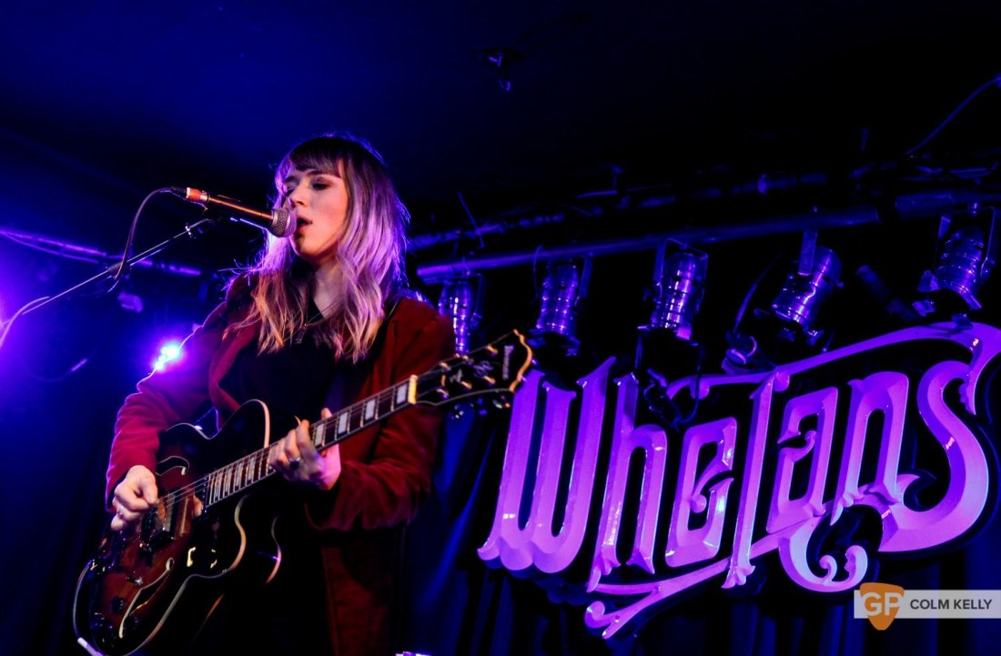 Hannah Lou Clark at Whelans by Colm Kelly