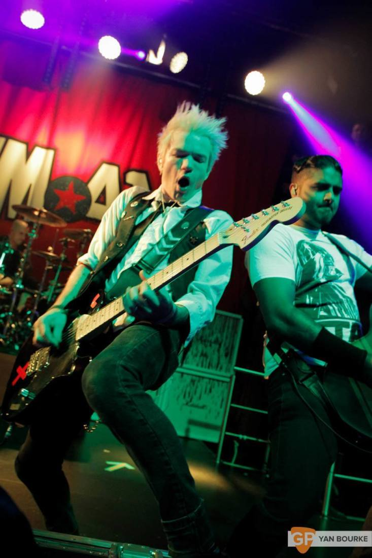 Sum 41 in The Academy on 10 February 2016 by Yan Bourke