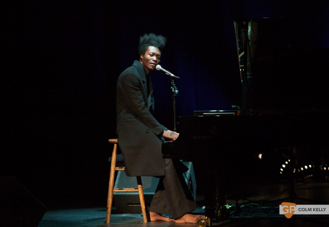 Benjamin Clementine at The Olympia Theatre by Colm Kelly-0081