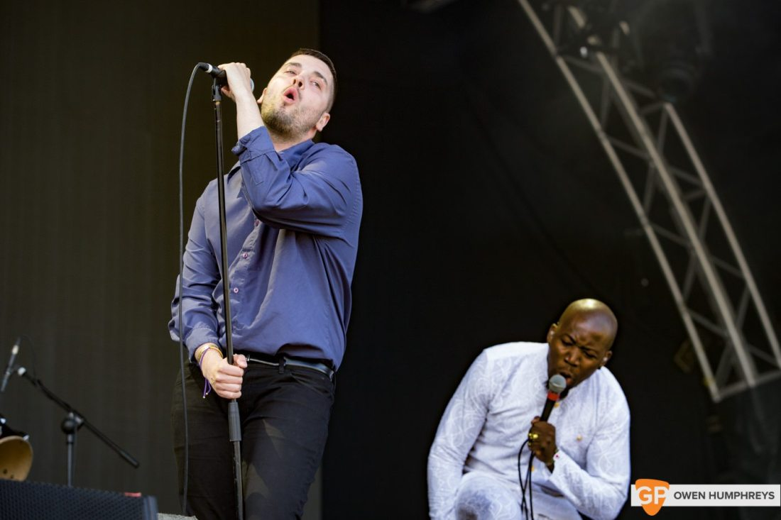 Young Fathers at Forbidden Fruit by Owen Humphreys
