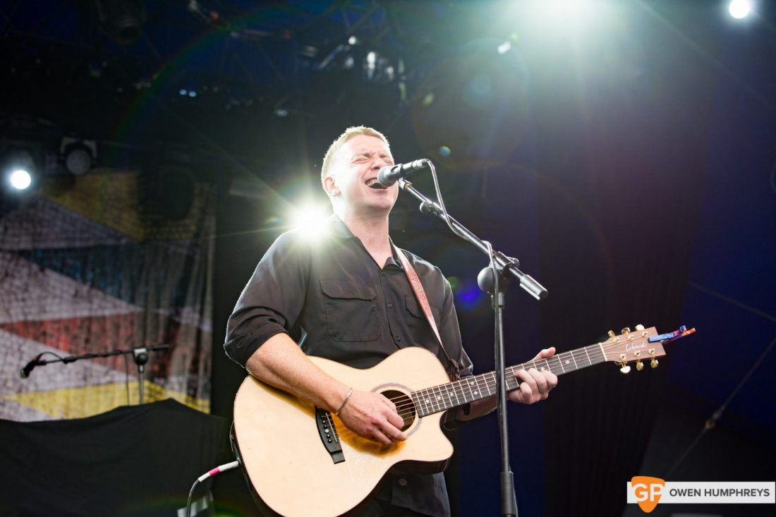 Damien Dempsey at The Iveagh Gardens by Owen Humphreys