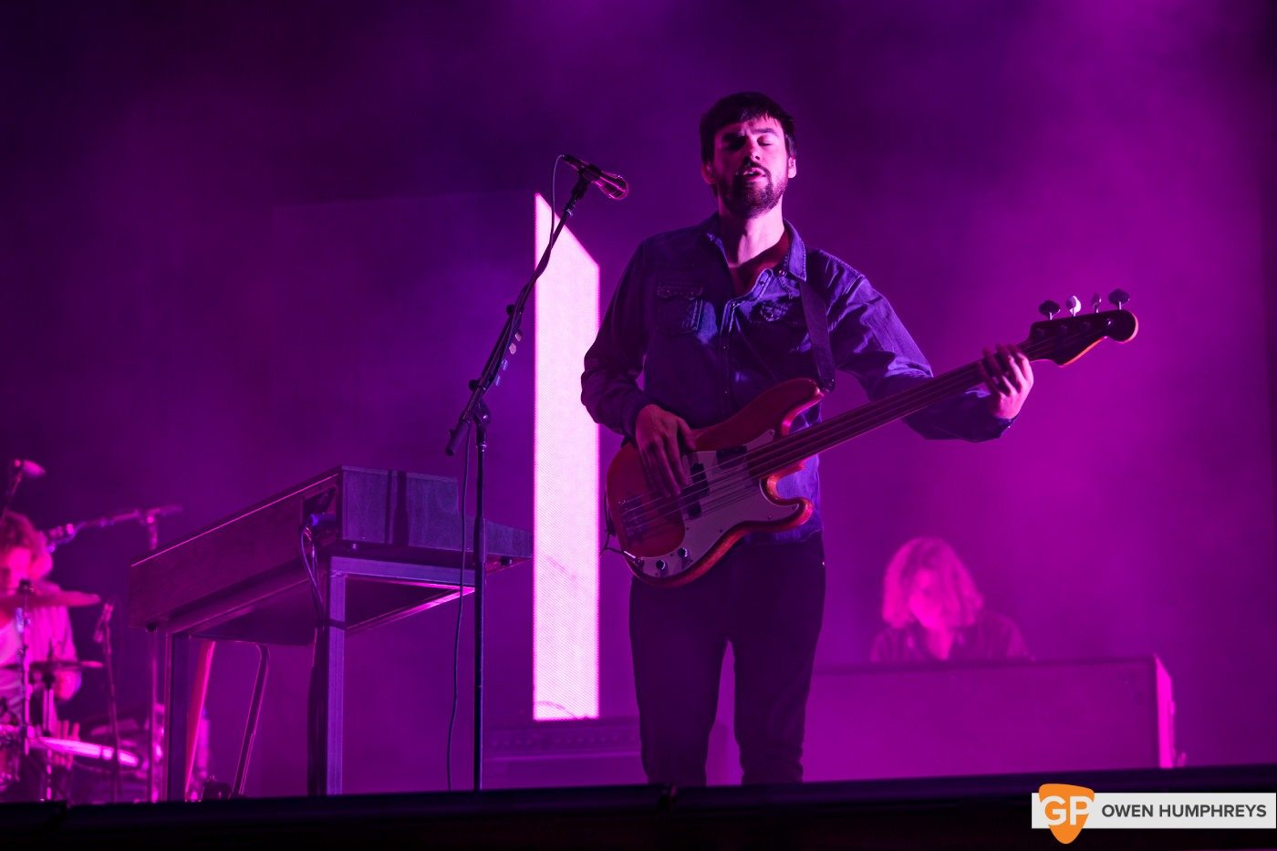 The 1975 at Electric Picnic by Owen Humphreys