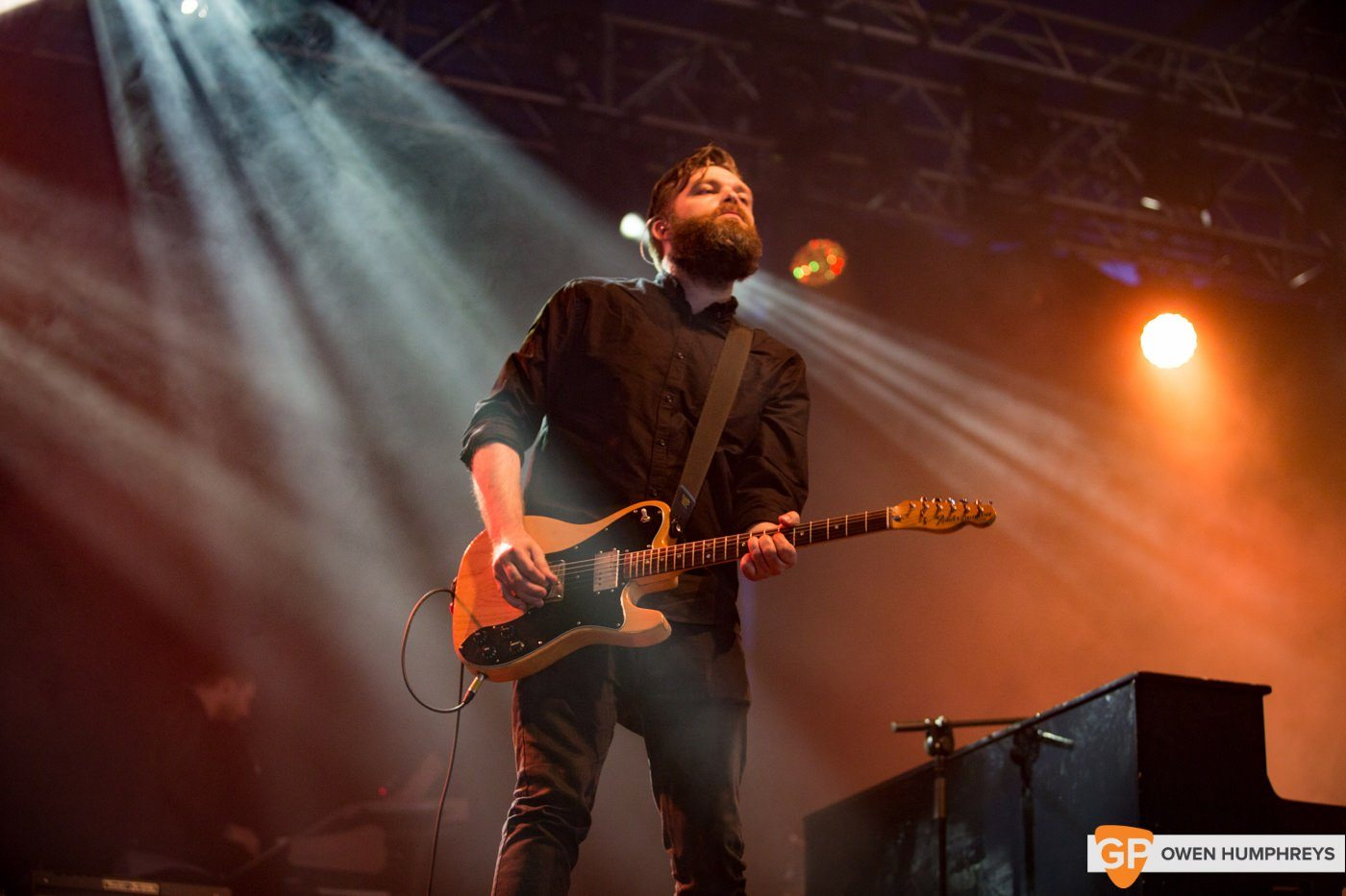 Editors at Electric Picnic by Owen Humphreys