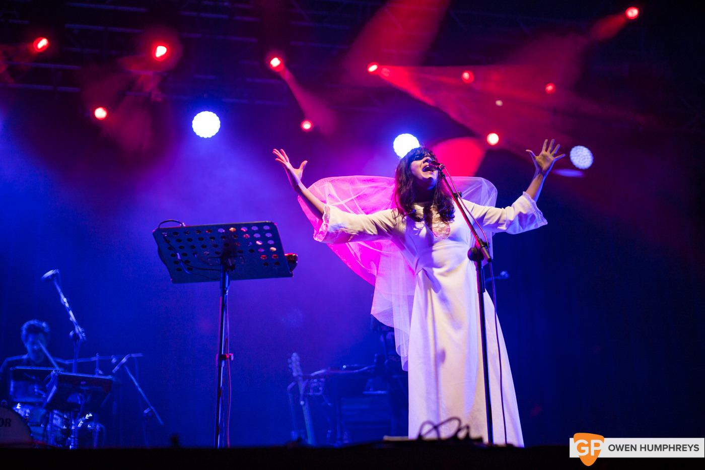 Bat For Lashes at Electric Picnic by Owen Humphreys