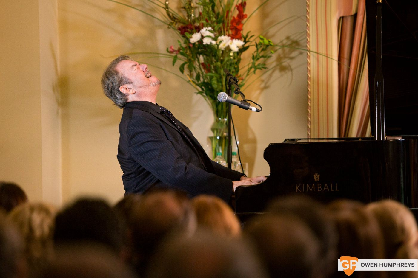 Jimmy Webb plays US Ambasador's Creative Minds series at the Residence in The Phoenix Park. Photo by Owen Humphreys