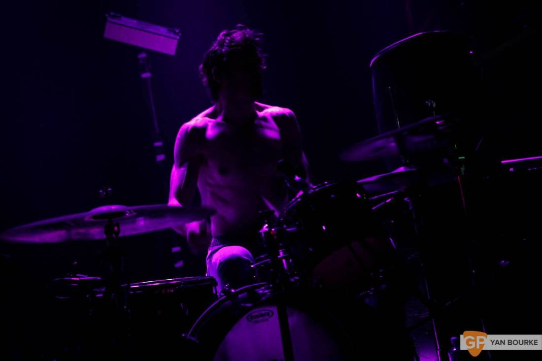 Death Grips in The Academy on 13 October 2016