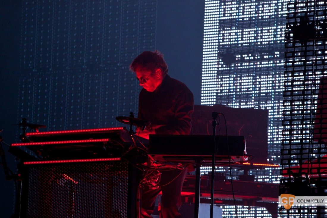 Jean-Michel Jarre at The 3 Arena by Colm Kelly