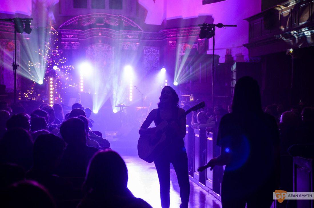 Heathers in St Anne's Church by Sean Smyth (8/12/16)