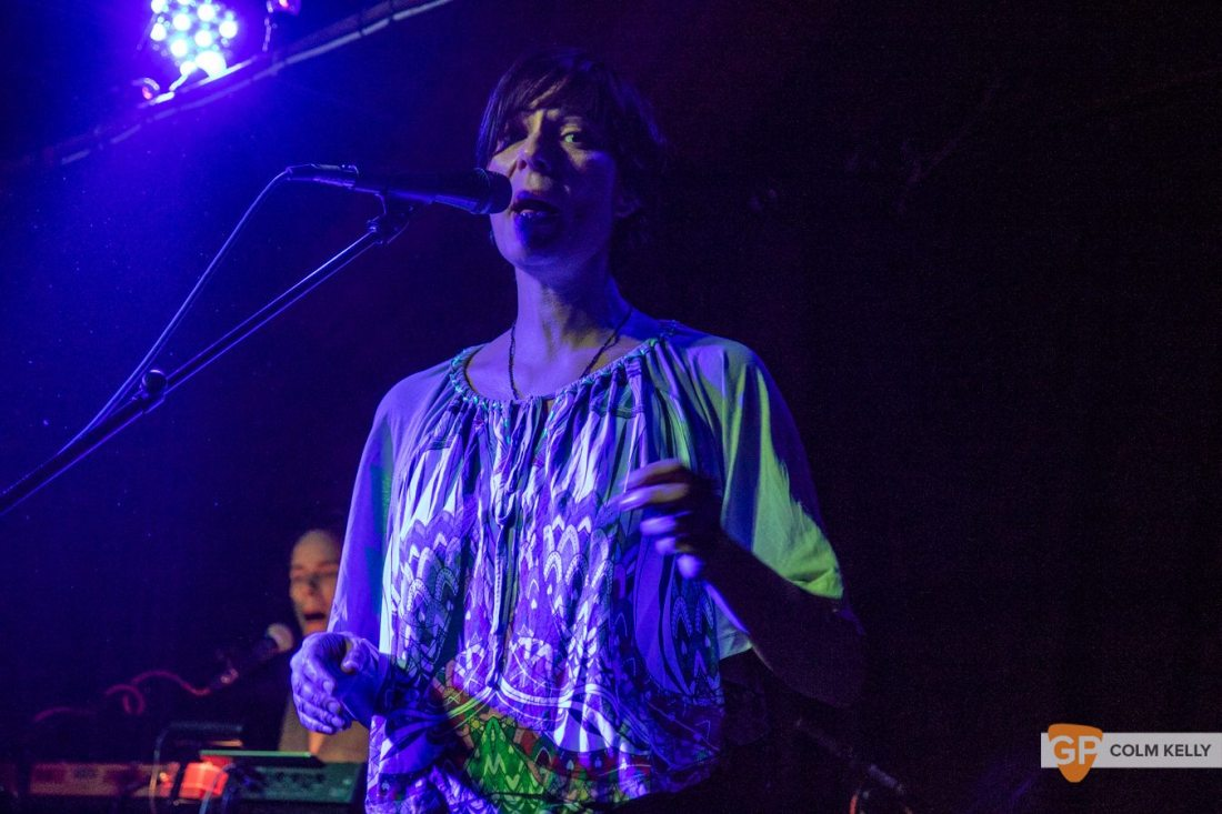 Laetitia Sadier at The Grand Social by Colm Kelly-0938