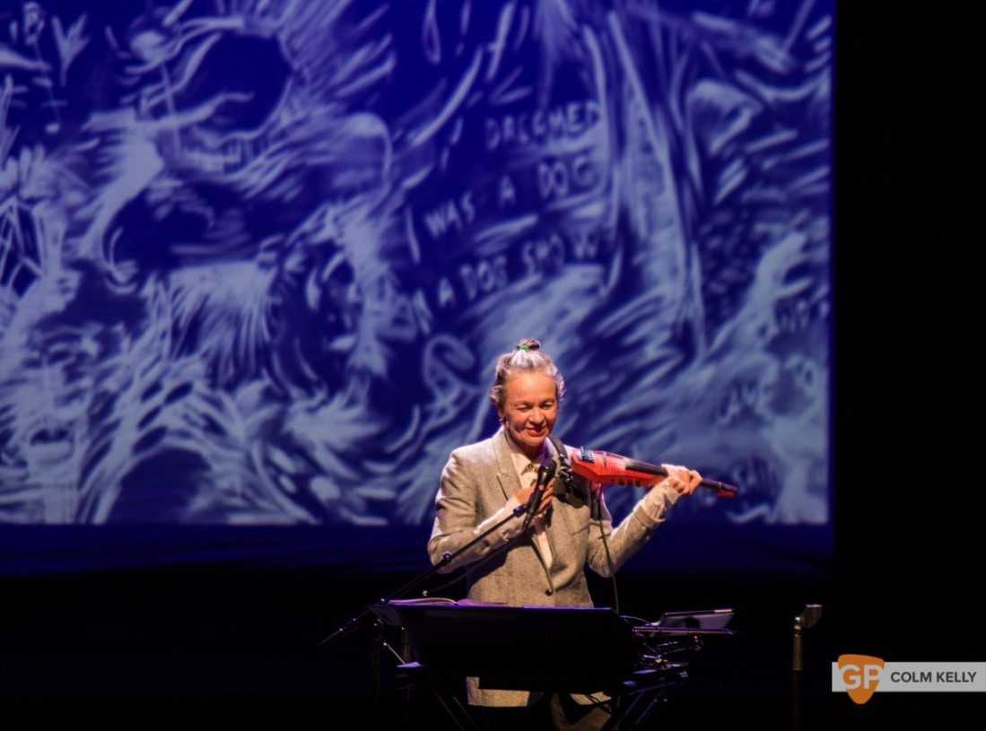 Laurie Anderson at The National Concert Hall Dublin by Colm Kelly-0033-4