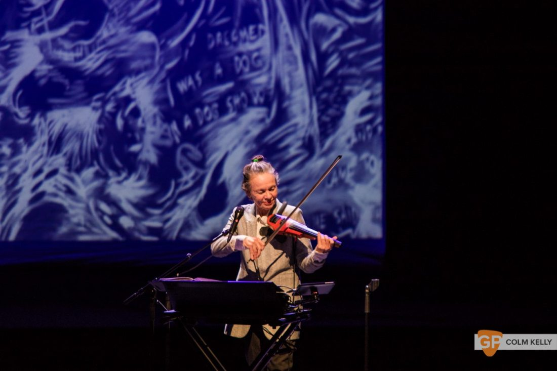 Laurie Anderson at The National Concert Hall Dublin by Colm Kelly-0038-2