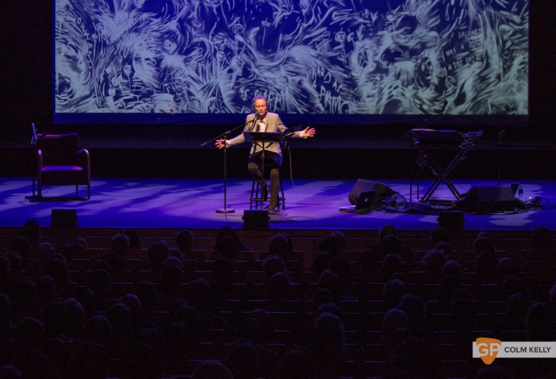 Laurie Anderson at The National Concert Hall Dublin by Colm Kelly-0058-2