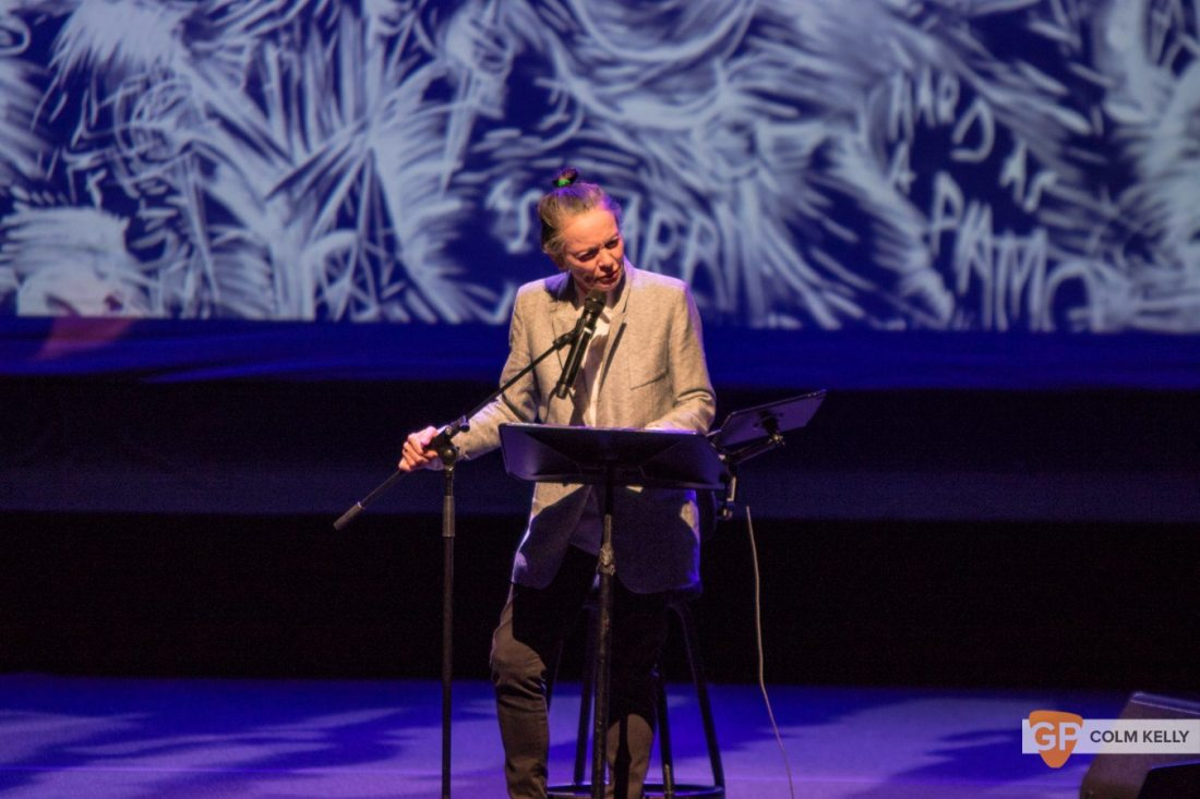 Laurie Anderson at The National Concert Hall Dublin by Colm Kelly-0062-2