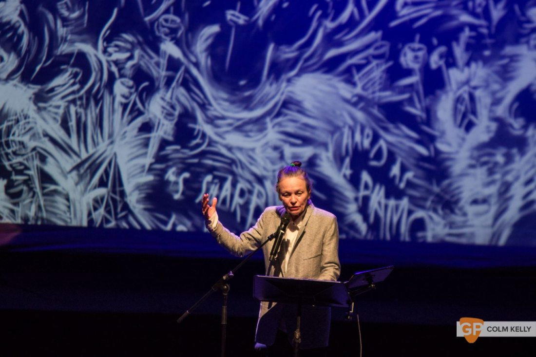 Laurie Anderson at The National Concert Hall Dublin by Colm Kelly-0078-2