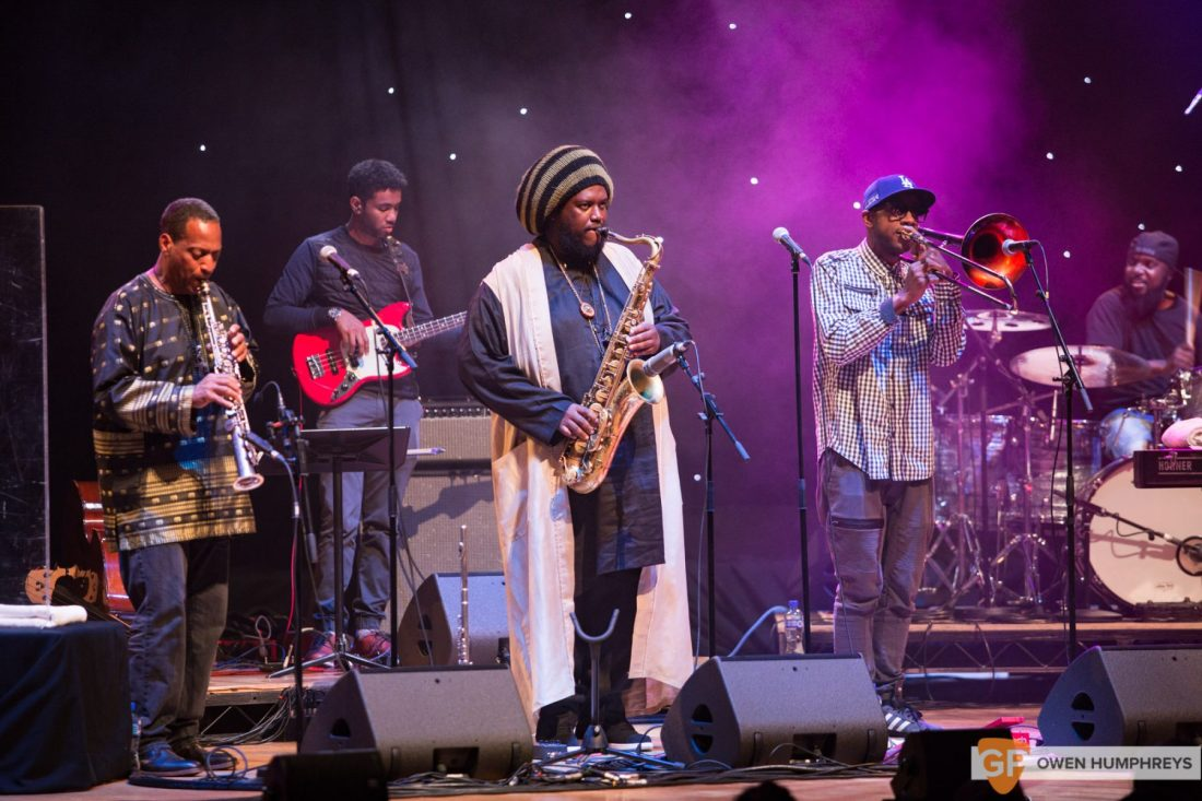 Kamasi Washington at The National Concert Hall by Owen Humphreys (10 of 17)