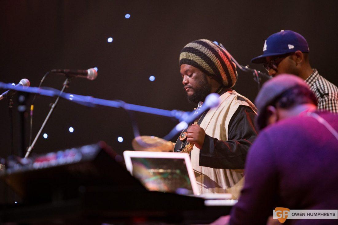 Kamasi Washington at The National Concert Hall by Owen Humphreys (4 of 17)