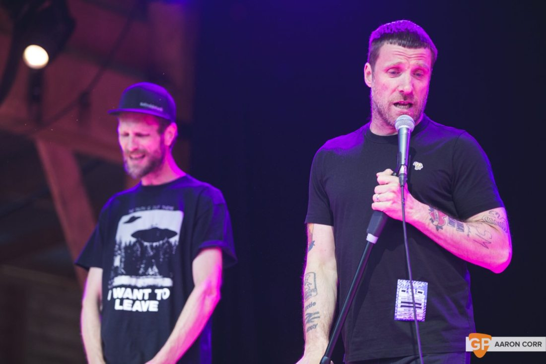 Sleaford Mods at Body & Soul 2017-5922