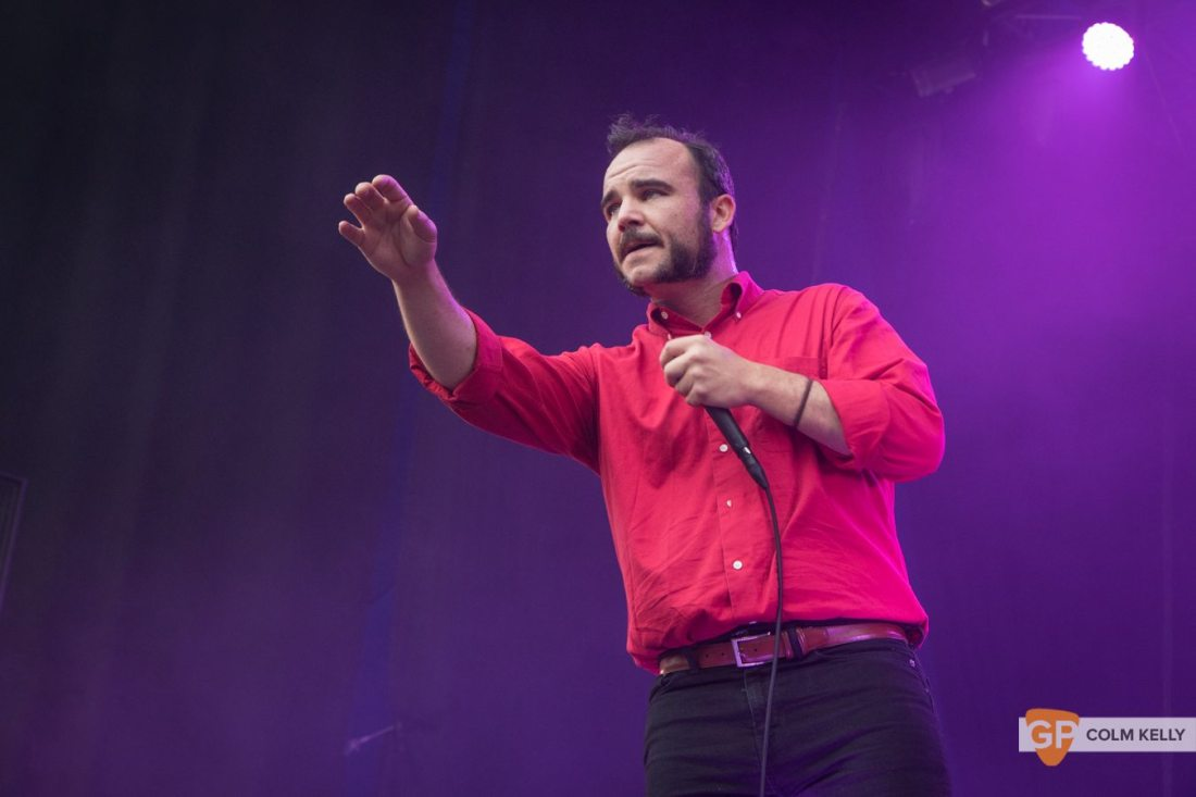 Future Islands at The Iveagh Gardens, Dublin July 6th 2017 by Colm Kelly