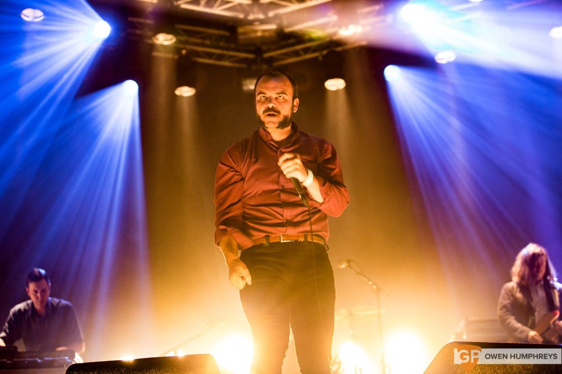 Future Islands live at Lowlands Festival 2017