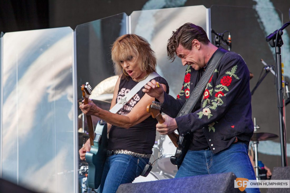 The Pretenders live at Electric Picnic