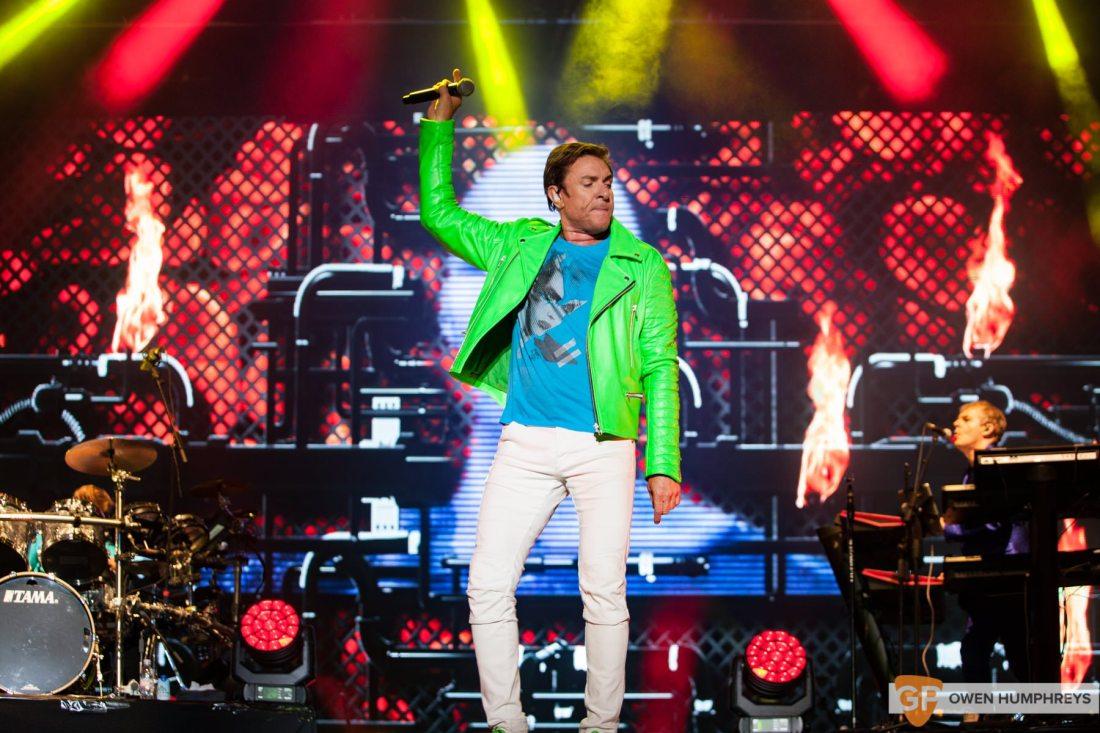Duran Duran live at Electric Picnic